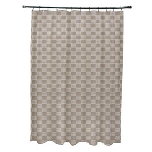 Breakwater Bay Layton Geometric Shower Curtain