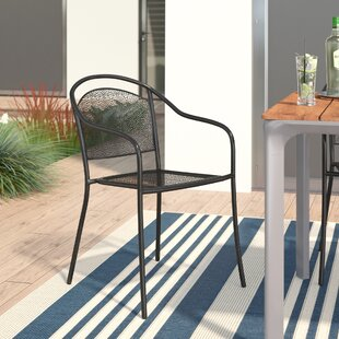 Voyles Stacking Patio Dining Chair