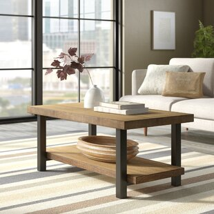 Chaska Coffee Table by Union Rustic