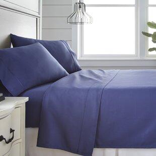 Rosdorf Park Long Ashton 300 Thread Count 100% Cotton Sheet Set