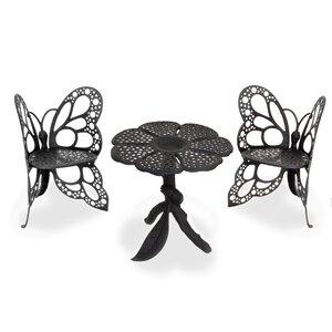 Butterfly 3 Piece Bistro Set