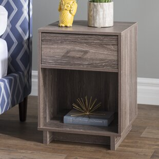 Great choice Chicopee Wood 1 Drawer Nightstand By Zipcode Design
