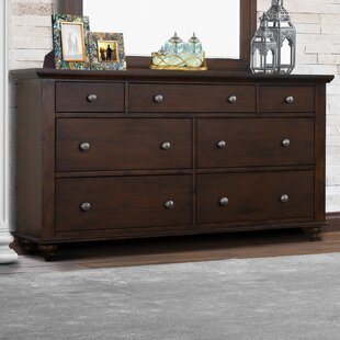Nickelson 7 Drawer Dresser by Charlton Home Best Choices