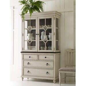 Ornithogale Lighted China Cabinet by Lark..