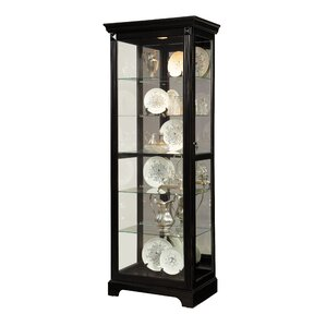Napier Lighted Curio Cabinet by Darby Hom..