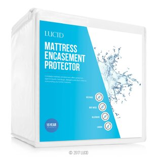 Encasement Hypoallergenic Waterproof Mattress Protector
