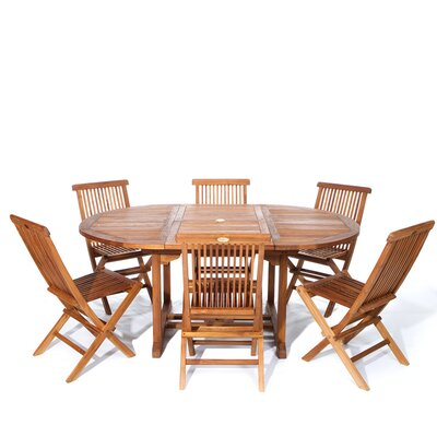 Humphrey 7 Piece Teak Dining Set by Longshore Tides Best Design