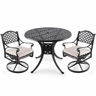 Coar 3 Piece Bistro Set by Fleur De Lis Living