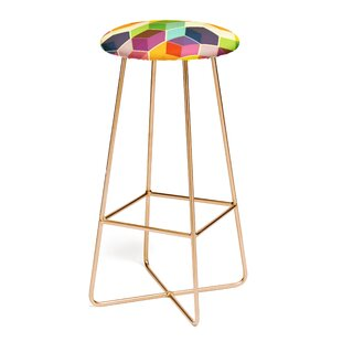 East Urban Home Fimbis Retro Hexagonzo 30
