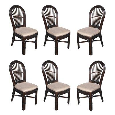 Alim Rattan Upholstered Dining Chair Astoria Grand