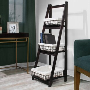 Foldable Ladder Bookcase