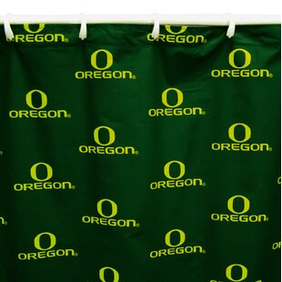 NCAA Oregon Cotton Single Shower Curtain by College Covers