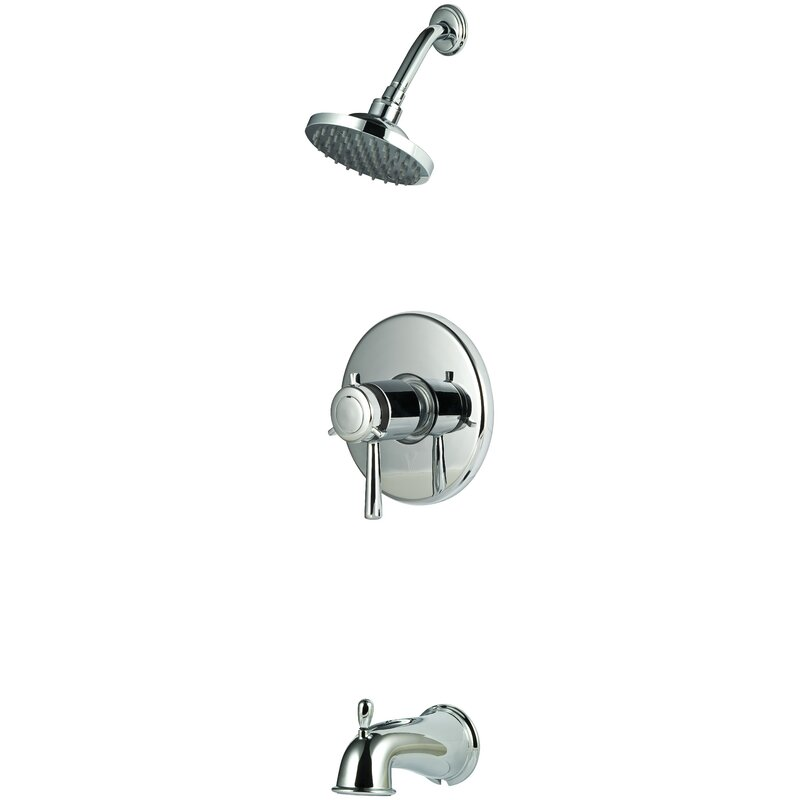 Pfister Iyla Thermostatic Tub And Shower Faucet With Trim Reviews Wayfair