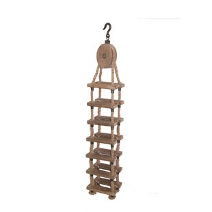 Whittiker Wood and Rope 7 Wine Rack by Gr..