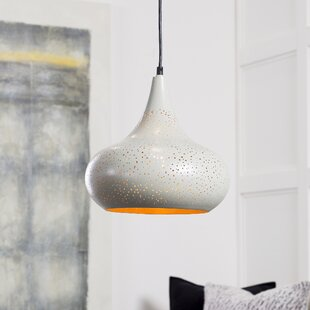 Bungalow Rose Kilpatrick Modern 1-Light Dome Pendant