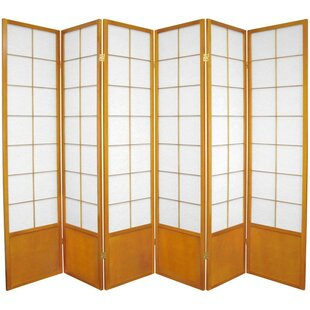 Camille Zen 6 Panel Room Divider by World Menagerie