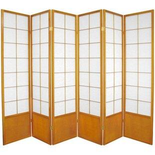 Camille Zen 6 Panel Room Divider