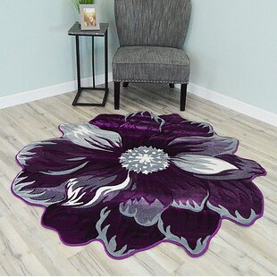 Purple Area Rugs Free Shipping Over 35 Wayfair