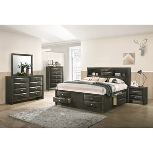Carle Platform 5 Piece Bedroom Set