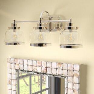 Beachcrest Home Murguia 3-Light Vanity Light