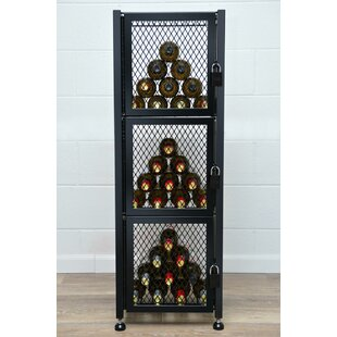 Locker 48 Bottle Floor Wine Rack #2