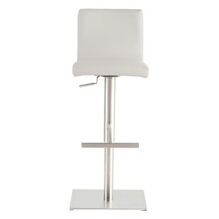 Barrentine Adjustable Height Bar Stool by Wade Logan