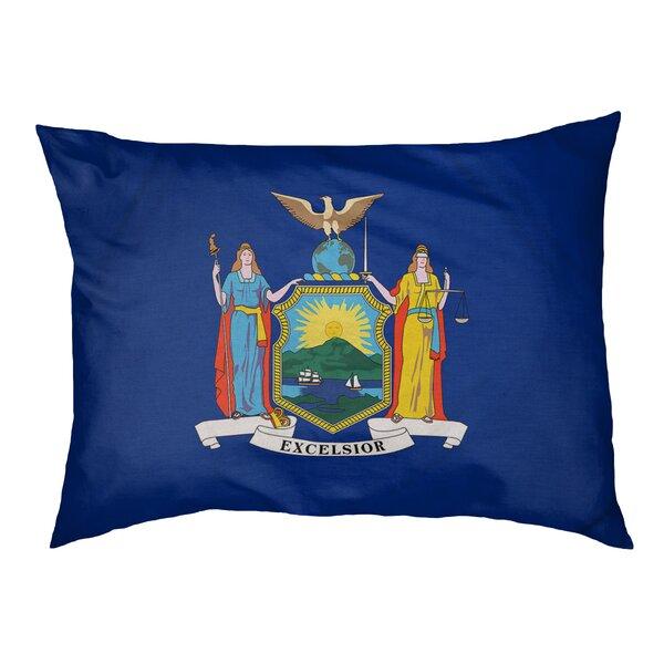 Tucker Murphy Pet Burien New York Flag Dog Pillow Wayfair