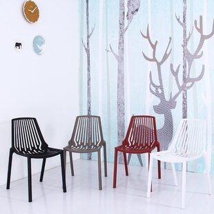 Find Arnette Plastic Side Chair (Set of 4) by Williston Forge