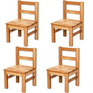 Mariana Children's 4 Piece Chair Set (Set Of 4) By Harriet Bee