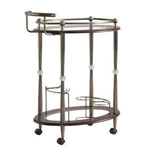 House of Hampton Polly Bar Cart