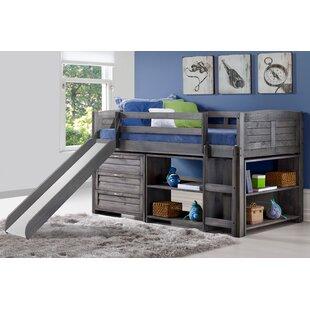 Christerfer Louver Twin Low Loft 3 Piece Bedroom Set