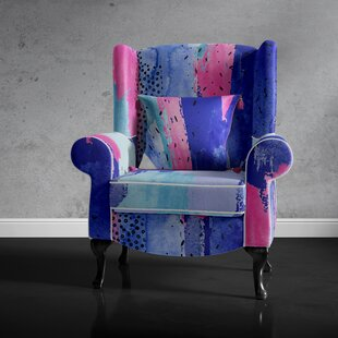 Lomba Wingback Chair By Ebern Designs