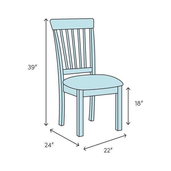 Highland Dunes Harcourt Solid Wood Dining Chair Wayfair