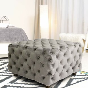 Adah Square Tufted Cocktail Ottoman