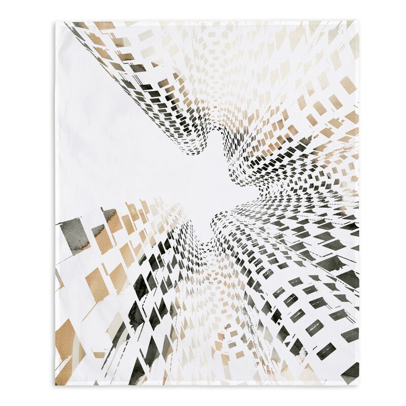East Urban Home Abstract Building Wall Tapestry Wayfair