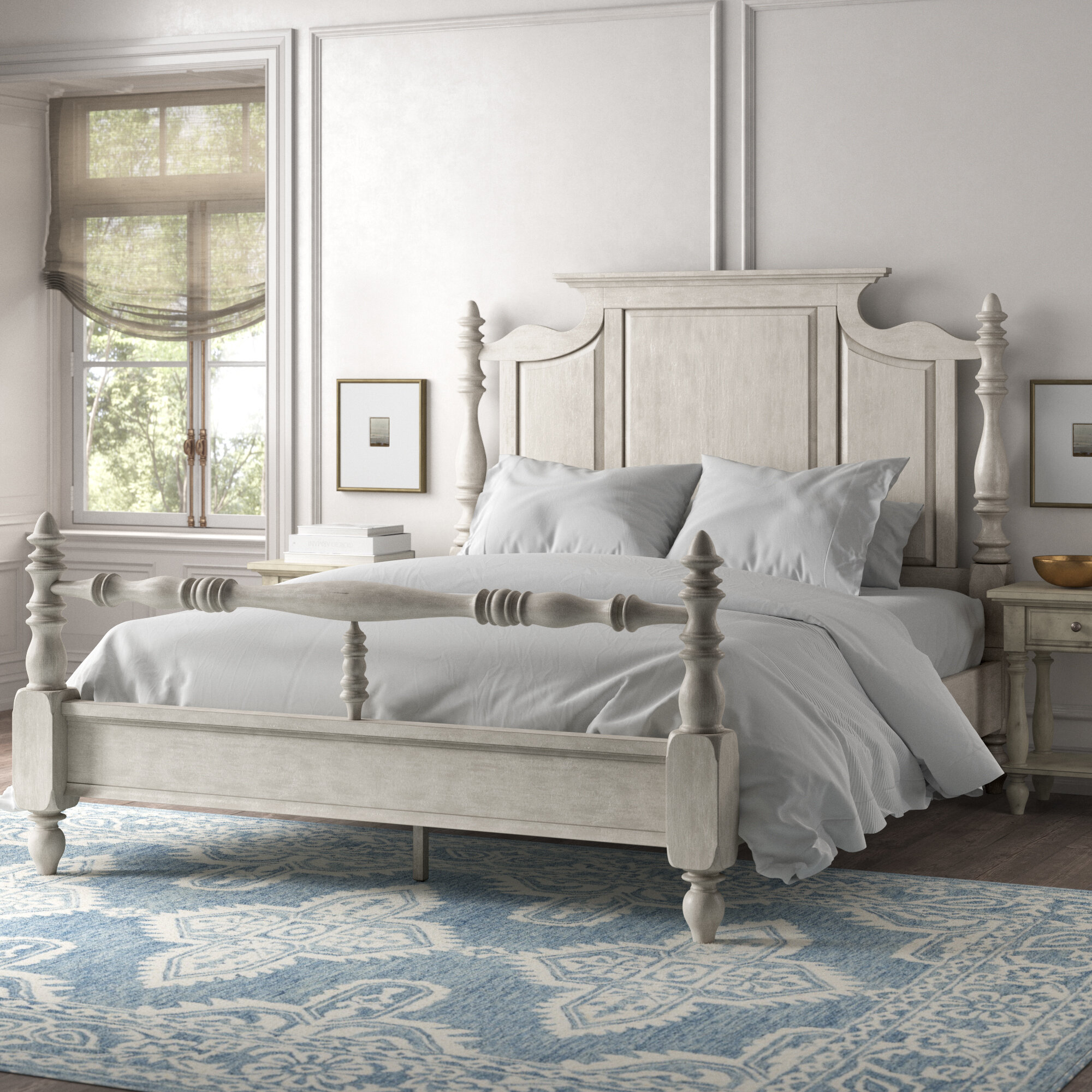 Cottage Country Four Poster Beds You Ll Love In 2021 Wayfair