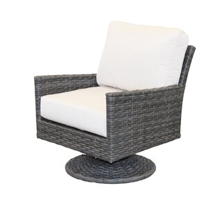 Gales Glider Chair With Sunbrella Cushions by Ebern Designs Great price