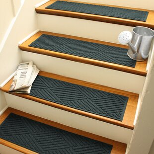 Perfect Green Stair Tread Rugs