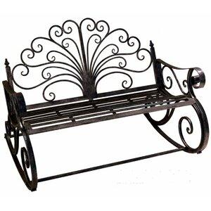 2-Sitzer Gartenbank aus Metall von Bel Étage