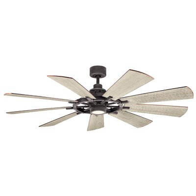 17 Stories 65 inch Alex 9 Blade LED Ceiling Fan