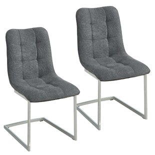 Ivy Bronx Beasley Upholstered Dining Chair (Set of 2)