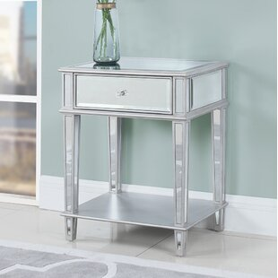 Glenaire End Table with Storage by House of Hampton