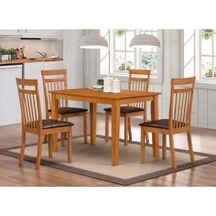 Elisa Dining Set With 4 Chairs By Gracie Oaks