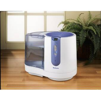Air Innovations Cool Mist Digital Humidifier 1.7 Gal Anti-Microbial Tank in Plum