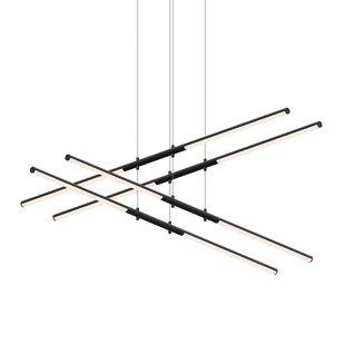 Sonneman Tik-Tak Stack 8-Light LED Novelty Pendant