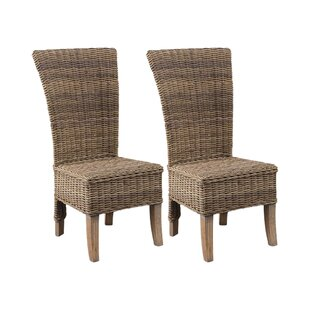 Stetson Solid Mahogany Dining Chair (Set Of 2) By Beachcrest Home