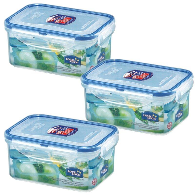 dad6704c7fef Rectangular 20.29 Oz. Food Storage Container