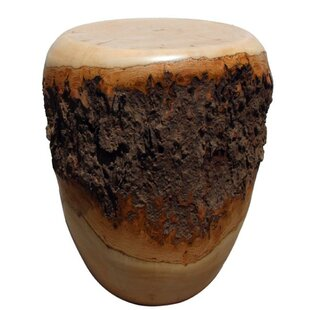 Natural Wood Accent Stool by Asian Art Imports