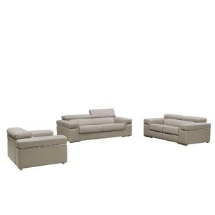 Orren Ellis Cana 3 Piece Living Room Set