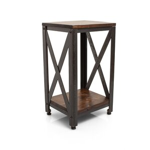 Crossroads End Table by Ironwood